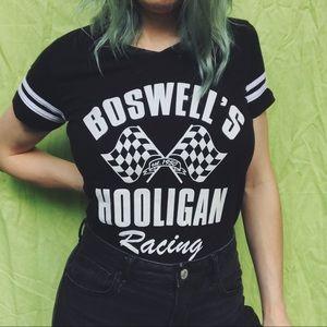 Racing graphic tee